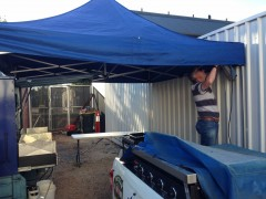 Anzac Day BBQ at the Walkerville RSL 2019