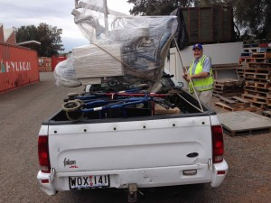 It fitted on the Ute