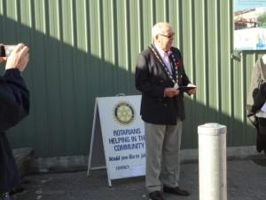 Mayor Griggs at work